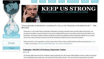 Wikileaks portal Assange