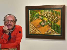 Yalcin gokcebag pintor turco