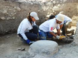 Amasya excavaciones arqueologos palacio persa