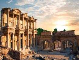 Efeso ruinas biblioteca celso