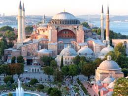 Una imagen del Museo de Santa Sofía, en la Plaza Sultanahmet de Estambul
