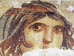 Imagen del famoso mosaico de la