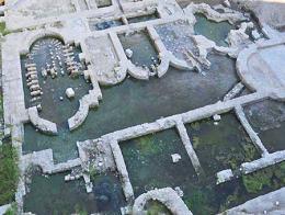 Izmir ruinas palacio romano