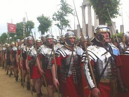 Legion romana legionarios