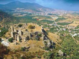 Mugla fortaleza turca becin