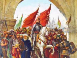 Sultan mehmet conquista constantinopla