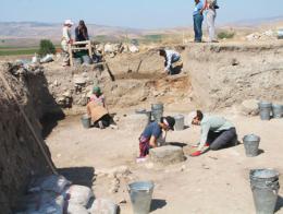 Amasya excavaciones arqueologicas oluz