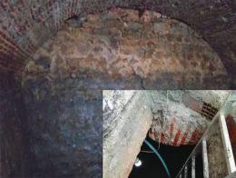 Edirne edificio bizantino subsuelo