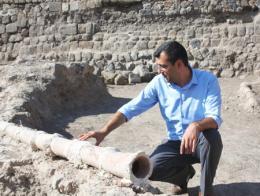 Erzurum castillo tuberias agua