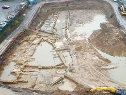 Estambul kadikoy ruinas carretera bizantina