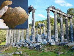 Mugla euromos templo zeus trepanaciones