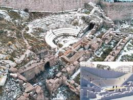 Ankara antiguo teatro romano