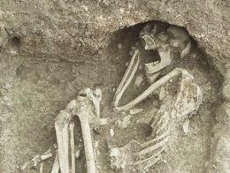 Turquia esqueleto agricultor anatolia neolitico