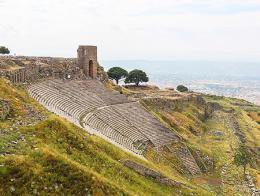 Turquia ruinas teatro pergamo