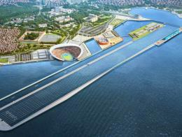 Imagen de la villa olímpica que se construirá en Estambul a orillas del Bósforo