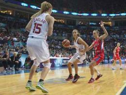 Baloncesto femenino turquia serbia