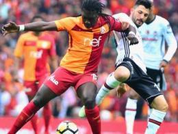 Galatasaray gomis besiktas derbi
