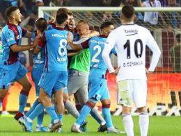 Trabzonspor besiktas goleada derrota