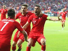 Turquia gol partido under yilmaz