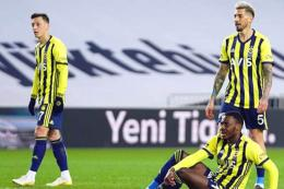 Fenerbahce derrota liga