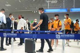 Grecia incidente galatasaray aeropuerto atenas