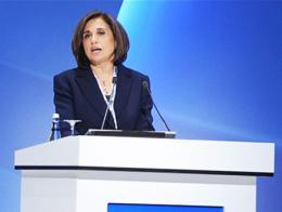 La presidenta de TÜSİAD, Cansen Başaran Symes