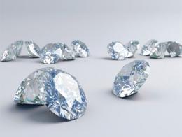Diamantes gemas joyas