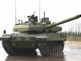 Prototipo del tanque ALTAY desarrollado por Turquía
