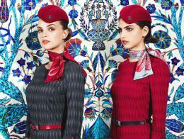Turkish airlines uniformes azafatas