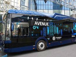 Autobus electrico turco temsa