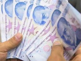 Dinero billetes lira turca