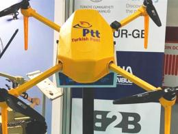 Drones correos envio postal