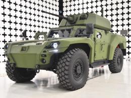 Empresas otokar vehiculo blindado electrico