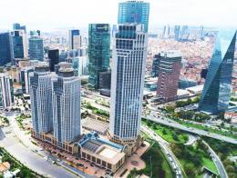 Estambul edificios rascacielos