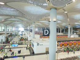 Estambul istanbul airport terminal