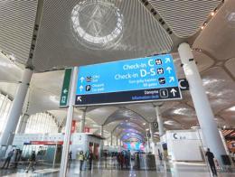 Estambul terminal aeropuerto nuevo