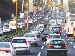 Estambul trafico circulacion atasco