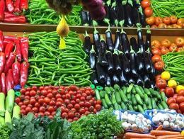 Supermercado frutas verduras precios