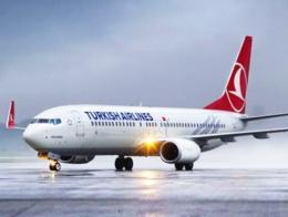Turkish airlines avion aerolinea
