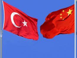 Turquia china banderas