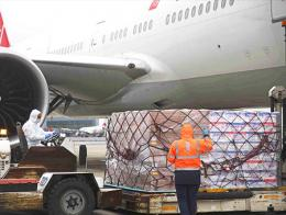 Turkish airlines transporte carga