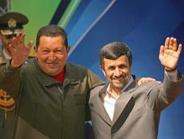Chavez ahmadineyad