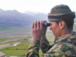 Guardia frontera kirguistan