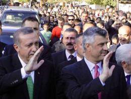Erdogan thaci kosovo