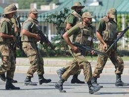 Pakistan soldados militares