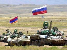 Maniobras militares conjuntas de Armenia y Rusia