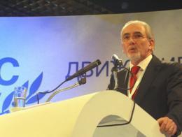 Lyutvi Ahmed Mestan, líder del Movimiento por los Derechos y las Libertades