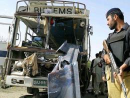 Pakistan atentado explosion autobus