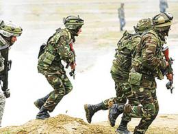 Azerbaiyan soldados