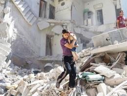 Siria guerra bombardeos